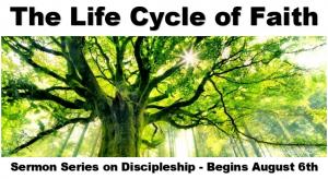New Sermon Series Begins August 6th – Faith UMC