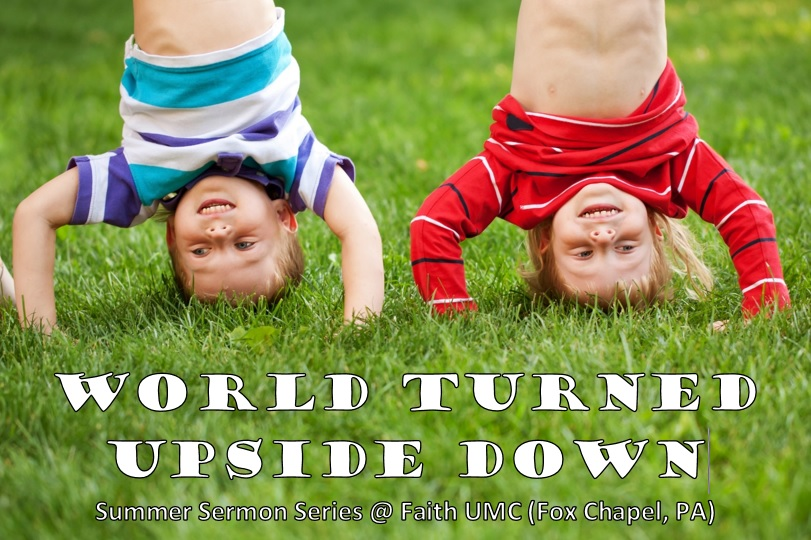 World Turned Upside Down Slide