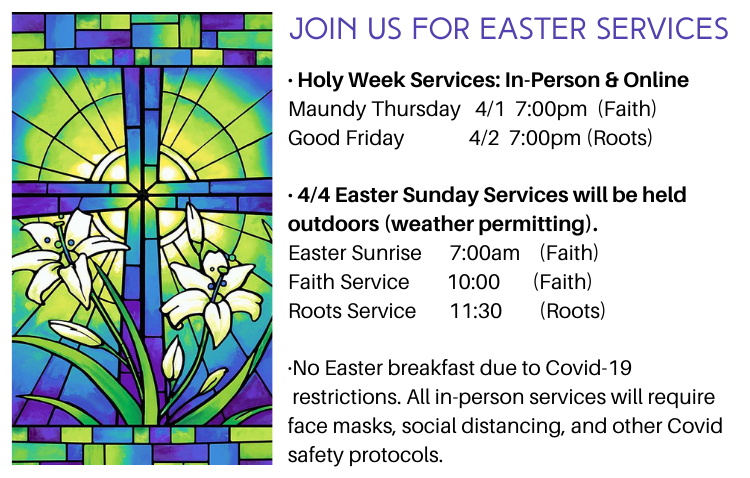 FUMC Easter Services