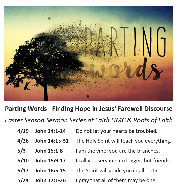 Parting Words- Easter Sermon Series